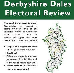 Have your say on a new political map for Derbyshire Dales District Council
