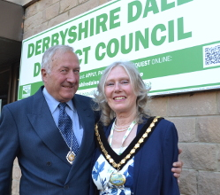 Hathersage and Eyam ward member Councillor Jean Monks is Derbyshire Dales District Council's civic leader in the coming year.