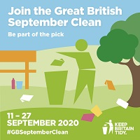 Derbyshire Dales District Council has pledged its support for this year's Great British September Clean, run by environmental charity Keep Britain Tidy.