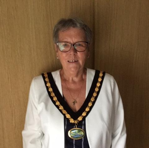 Calver ward member Councillor Helen Froggatt is Derbyshire Dales District Council's new civic leader.