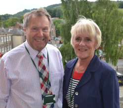 Councillors Garry Purdy and Susan Hobson didn't expect to take on the roles of Leader & Deputy Leader of Derbyshire Dales District Council when a new administration was elected in May - but they're embracing the challenge.