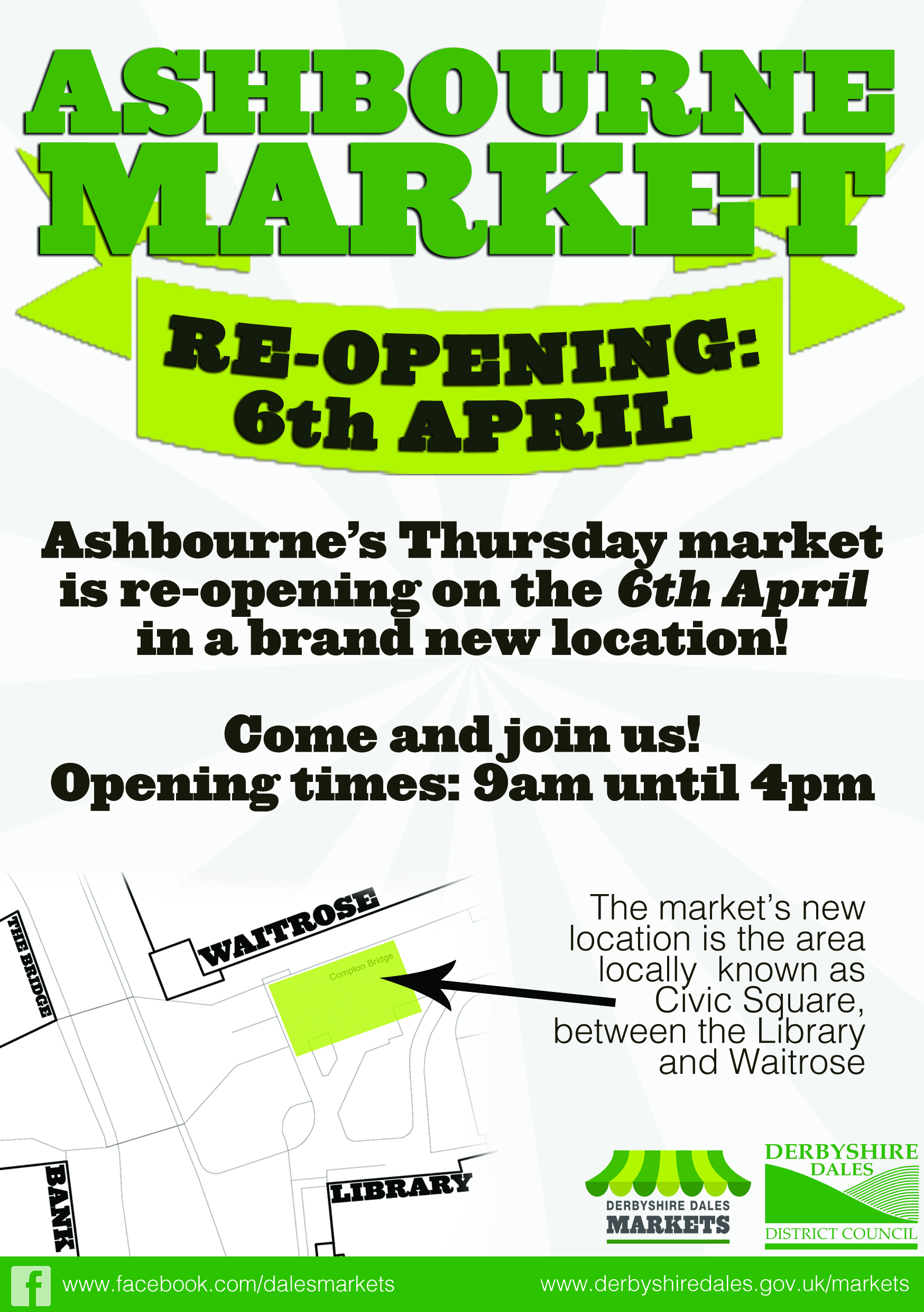 ASHBOURNE THURSDAY MARKET JOIN US