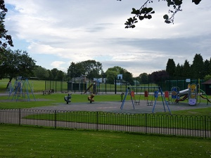 Ashbourne Recreation Ground childrens play area