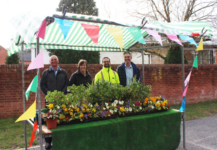 Traders have given an early thumbs-up to Ashbourne Thursday stall market's new trial venue, with all stalls taken for the grand re-opening on 6 April.