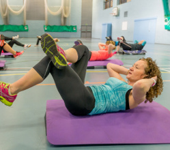 Fitness class at Ashbourne leisure centre