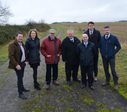 D2N2 has agreed to provide £1million from its Local Growth Fund to support the Ashbourne Airfield development project here in the Derbyshire Dales.