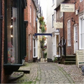 An Ashbourne side street