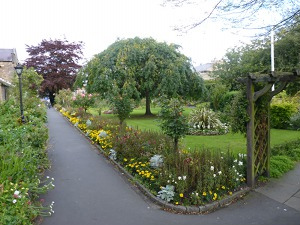 The District Council's beautiful Bath Gardens