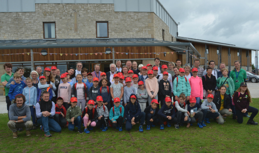 Chernobyl Children Lifeline children with volunteer host families and leaders at Mount Cook Adventure Centre