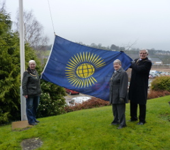Your District Council has joined in the 'Fly the Flag' tribute to mark Commonwealth Day.