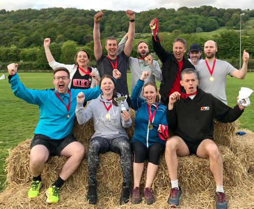 Corporate Games 2018 winners Derbyshire Dales 510px