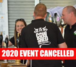 With enormous regret we have made the decision to cancel our Cow Shed Beer Festival - scheduled for 19 & 20 June - due to the coronavirus crisis.