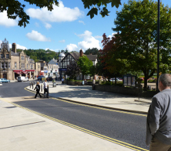 Matlock town centre was hit by flash floods in the early hours of Friday morning. Thankfully the floodwater had gone by the morning rush-hour and the focus for our streets and parks teams during the day on Friday is clearing and cleaning post flood debris and mud.