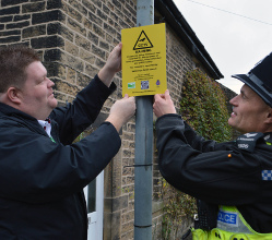 A new CCTV camera system has been installed in Hathersage to help protect local residents and businesses from crime and keep the area safe.