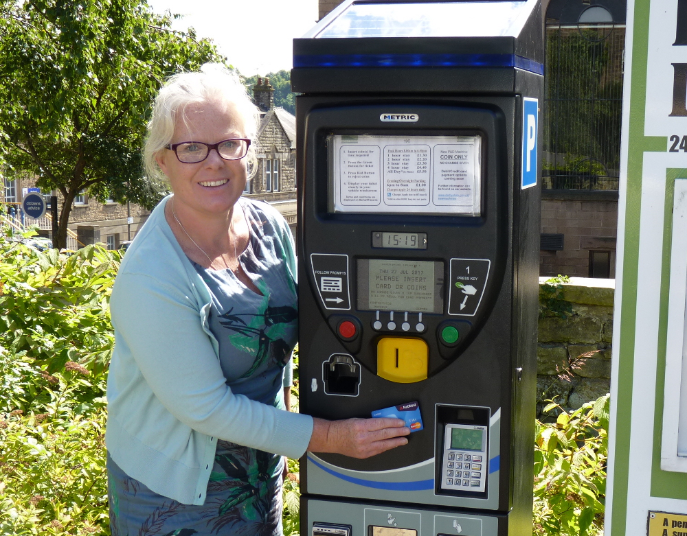 Parking in the Derbyshire Dales has been made even easier following additional improvements to council owned car parks.