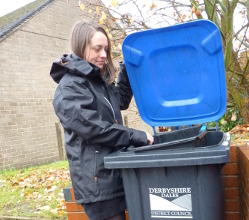 Derbyshire Dales residents are reminded that their recycling bins won