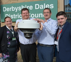 Your District Council has started to roll out a state-of-the-art upgraded CCTV system in some of the area