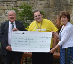 Last year's Chairman of the District of the Derbyshire Dales, Councillor Tom Donnelly, raised more than £4,800 for the local Air Ambulance during his 12 months in office.
