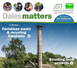 View the online version of the autumn edition of our Dales Matters publication, which is dropping through letterboxes across the district this week.