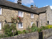 Eyam plaque cottages