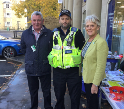 We backed Derbyshire Constabulary's event in Bakewell on Friday 18 October in support of Hate Crime Awareness Week.