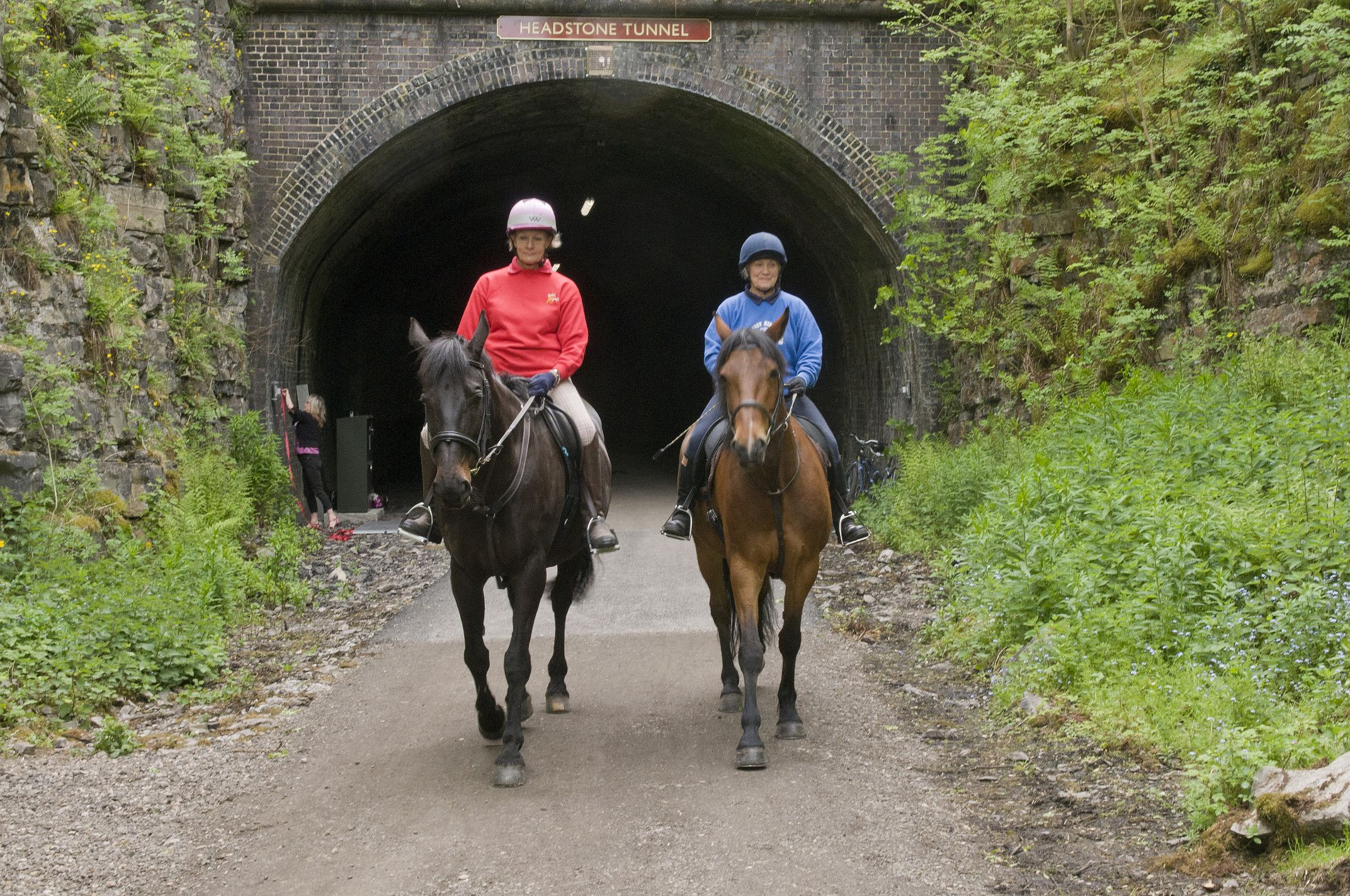 Horse riding in the Derbyshire Dales