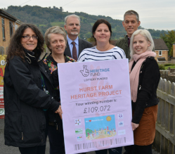 Derbyshire Dales District Council has received initial support from The National Lottery Heritage Fund for the Hurst Farm Heritage Trail project in Matlock.