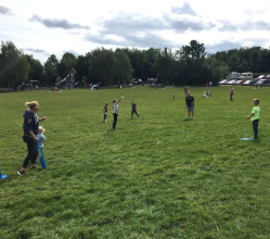 Youngsters living on the Derbyshire Dales' largest estate were treated to activities galore during the school summer holidays.