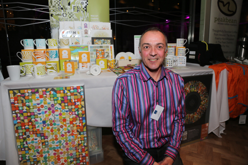 Peak District Products at the networking event