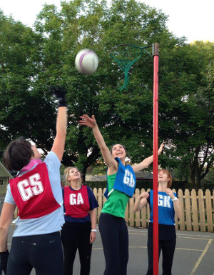 Netball in the Dales
