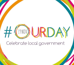 We're taking part in #OurDay on 19 November 2019 - the 24 hour social media marathon giving everyone who works or volunteers in public services the chance to share how they improve the quality of life for residents.