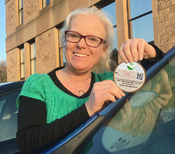 A parking badge allowing local residents to park free in Derbyshire Dales District Council car parks for 19 hours every day was posted with Council Tax bills.