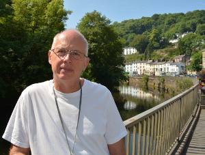 Paul Henshall pictured at the Promenade in Matlock Bath