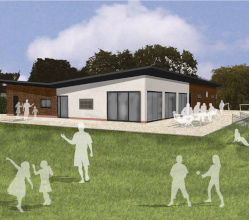 Contractors move onto site on 12 January to start work on the £830,000 Pavilion in the Park project in Ashbourne Recreation Ground.