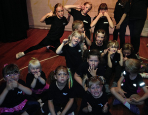 Youlgrave street dance youngsters