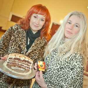Winners at the Bakewell bake off heat