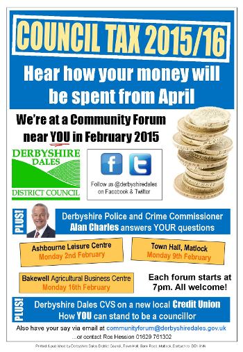 Community Forum poster Feb 2015