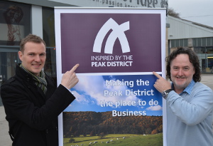 Peak Engineers of Bakewell become the 100th business to sign up to the Inspired by the Peak District brand