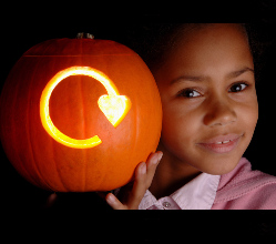 Recycle those Halloween pumpkins!
