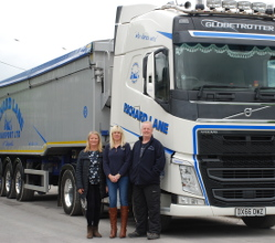 Your District Council's support to a Tideswell haulier carried a lot of weight – 30 tonnes to be precise!