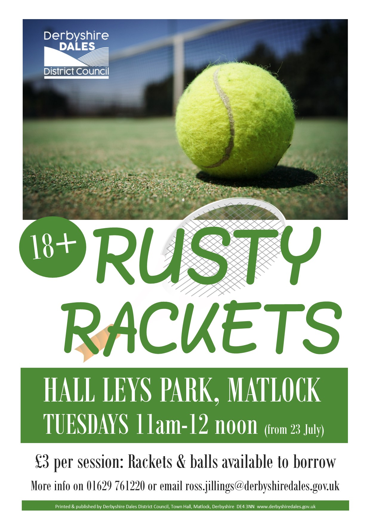 Rusty Rackets poster