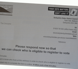 We're reminding residents to make sure you are registered to vote in any elections taking place in the coming year.