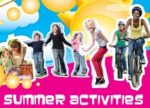 Summer activities promotion