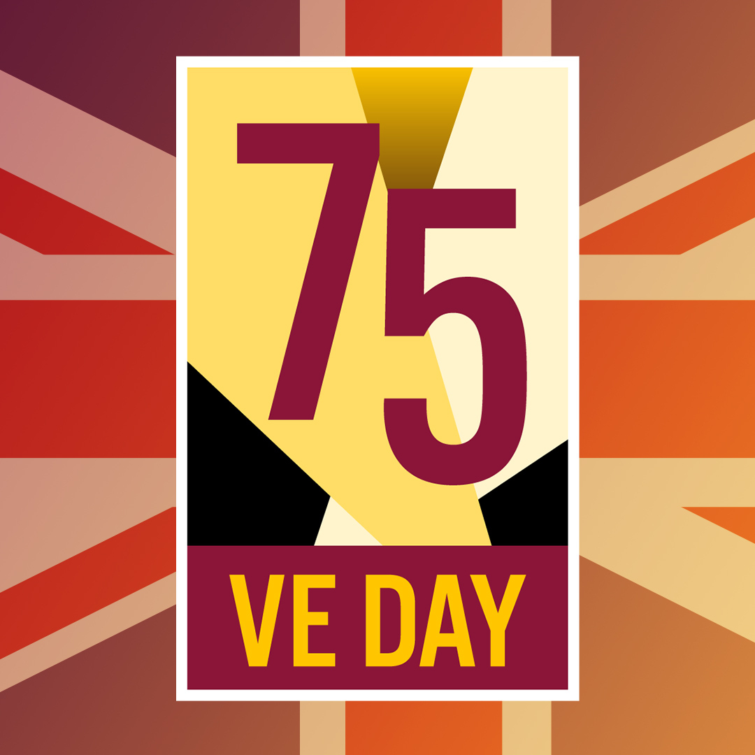 Friday 8 May marks the 75th anniversary of VE Day – the official end of the Second World War in Europe, and we want everyone to be able to commemorate this special day safely.