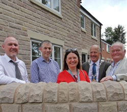 Your District Council has played a key role in the completion by Nottingham Community Housing Association (NCHA) of 33 new homes at Ward Close in Wirksworth.
