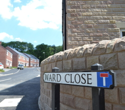 Your District Council has worked with Nottingham Community Housing Association and Westleigh Partnerships to create 33 new affordable homes in Ward Close, Wirksworth.