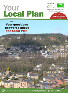 Your Local Plan front cover