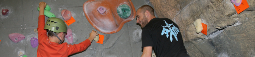 wirksworth leisure centre - the face climbing wall